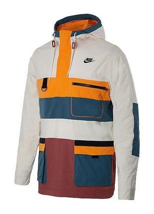 Куртка ветровка парка nike hype hike woven (s-m-l-xl) оригинал...