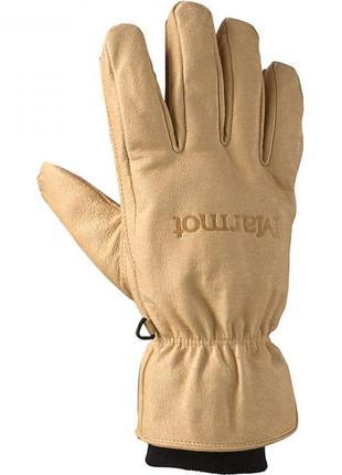 Рукавиці чоловічі marmot basic ski glove l tan beige