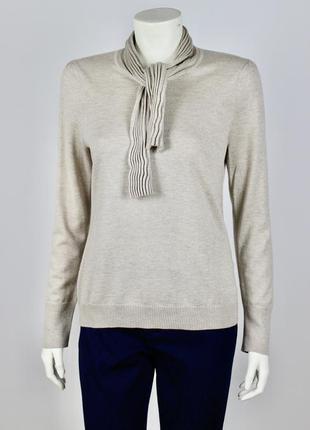 Женский гольф свитер basler шерсть шелк