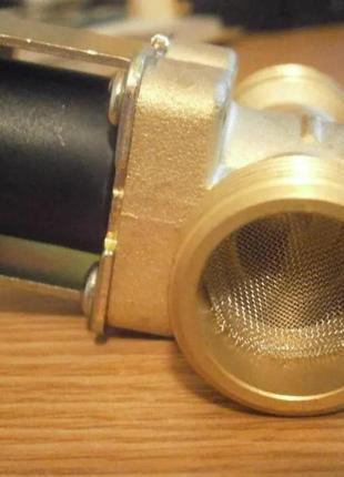 """Электромагнитный клапан 3/4"""" 12 220V  соленоид вода газ масло"""