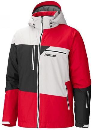 Куртка чоловіча marmot treeline jacket l team red-whitestone-b...