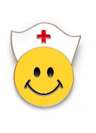 Брошь «Медсестра - Смайлик»