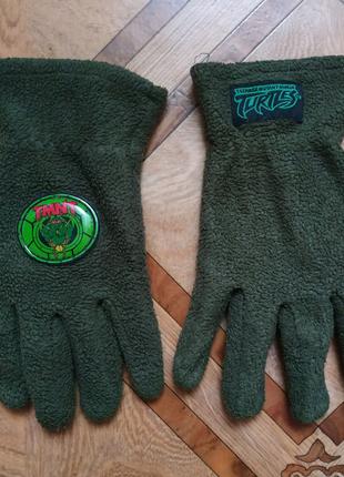 Детские перчатки Черепашки ниндзя