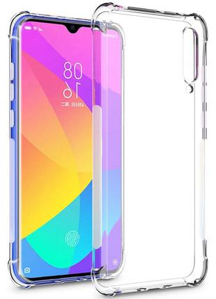 Противоударный прозрачный чехол Xiaomi Mi A3