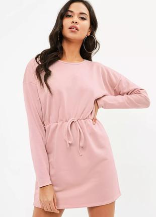 Платье missguided в пастельно розовом цвете