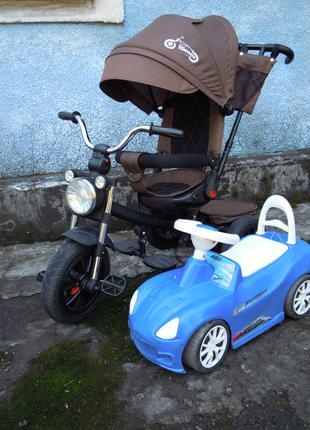 Велосипед трехколесный Tilly Tornado (T-383)+подарок