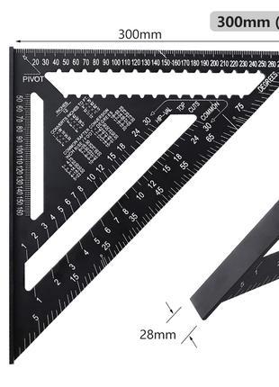 Угольник Свенсона 300 мм, металлический, полный аналог