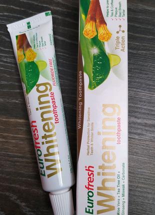 Зубная паста для безопасного отбеливания Farmasi Eurofresh Whiten