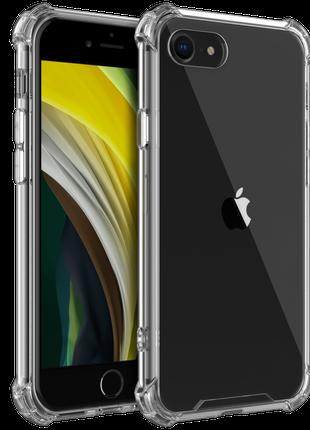 Противоударный прозрачный чехол iPhone SE 2 2020