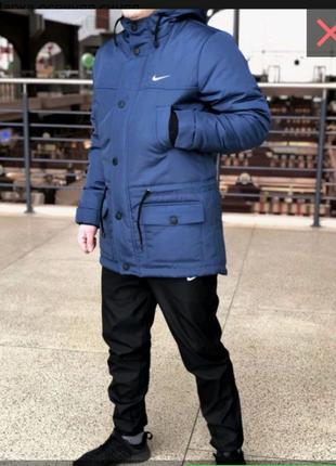 Мужская куртка парка.