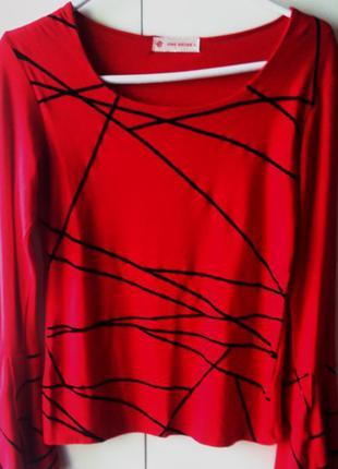 Яркая блузка Корея