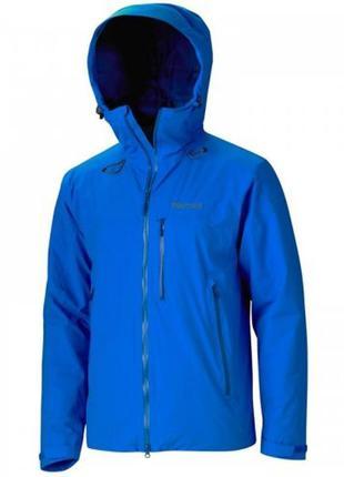Куртка чоловіча marmot headwall jacket l cobalt blue