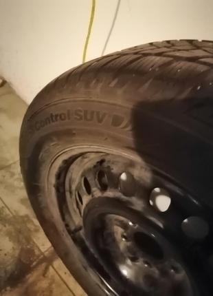 Колеса в сборе зимние для  Nissan X trail или Кашкай