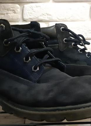 Замшевые ботинки, ботиночки caterpillar, cat