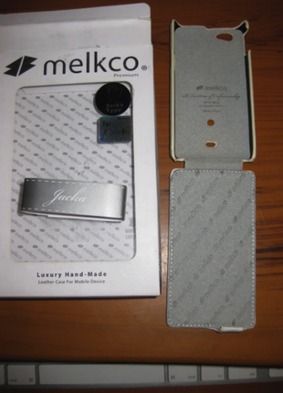 Чехол Melkco Leather Case Jacka Sony Xperia Miro ST23i