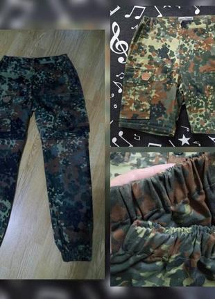 Брюки-карго штаны-шорты хаки.