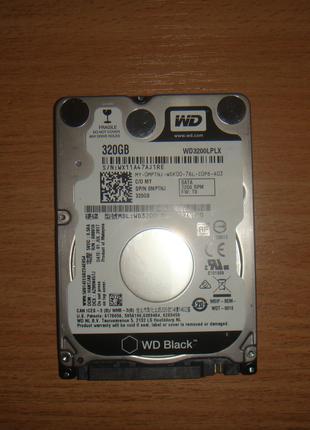WD Black 320GB 7200RPM SATA 6GB/s 32MB (WD3200LPLX) SATA III