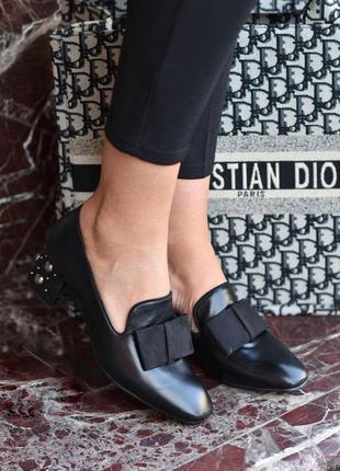 Дуже стильні туфельки на зручному каблучку