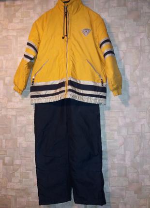 Детский комбинезон демисезон + в подарок свитер