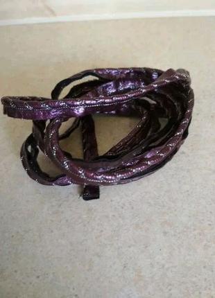 Кант лаковый фиолетового цвета