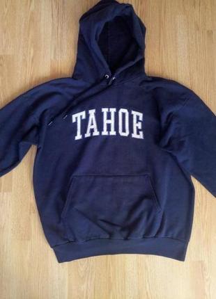 Кофта  кенгурушка,с капюшоном.унисекс.tahoe