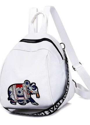 Сумка рюкзак со слоном,женский рюкзак-сумка