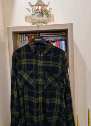 Рубашка в клетку  made in Italy