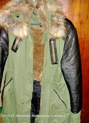 Продам куртку очень тёплая