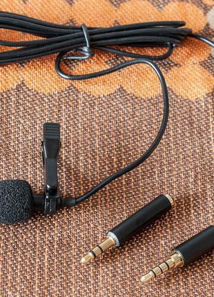 Микрофон Петличка Andoer EY-510A. для смартфона, для блога