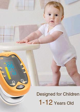 Детский пульсоксиметр — с 1 года олед
