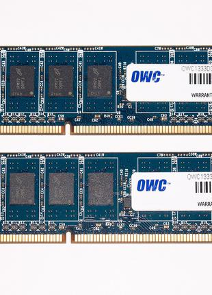 OWC 8Gb (2x 4Gb) DDR3 1333MHz PC3-10600E ECC небуферизированная