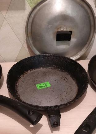 Сковородки к индукционной и газовой - электро плите