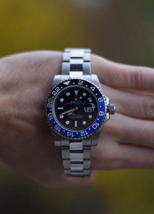 Наручные часы Rolex GMT Master II Batman (rolex submariner, da...