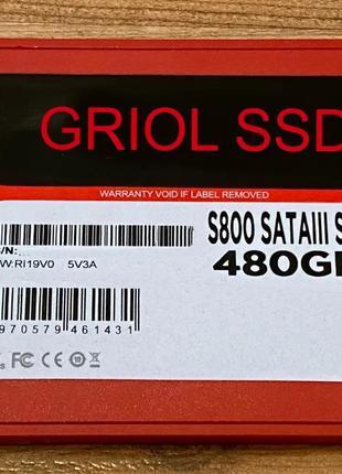 "SSD 480 GB ""GRIOL"" новые с Гарантией 12 месяцев."