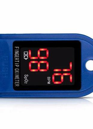 Пульсоксиметр Fingertip Pulse Oximeter, пульс, уровень кислорода.