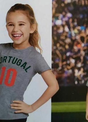 Футболка portugal номер 10.унисекс.германия,сток.