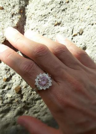 19.5 размер, кольцо серебро