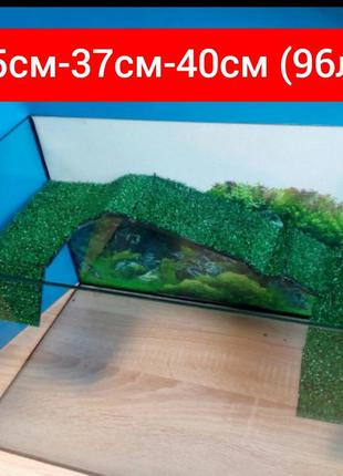 Новый террариум (аквариум) для черепахи на 96л.Доставка по Укр...