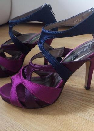 Летние туфли,босоножки на каблуке lorbacsa