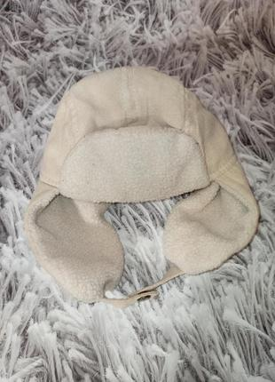 Шапка bernardi  бежевая, стильная шапка на мальчика, шапка на ...