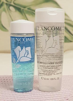 Набор micellaire douceur 50ml + bi-facil средство для снятия м...