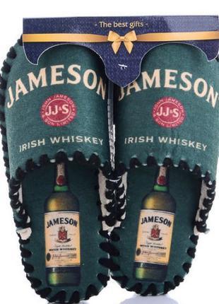 Комнатные тапочки Jameson   домашние тапки   Фетровые  ЭКО Войлок