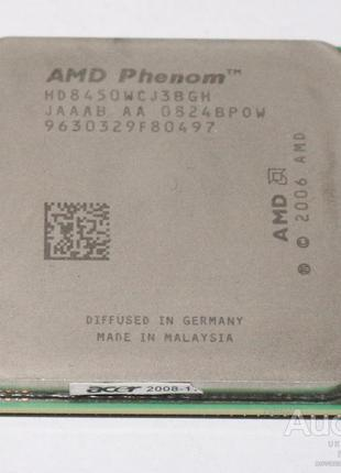 Процессор AMD Phenom X3 8450 3 ядра 2.1 ГГц Socket AM2+
