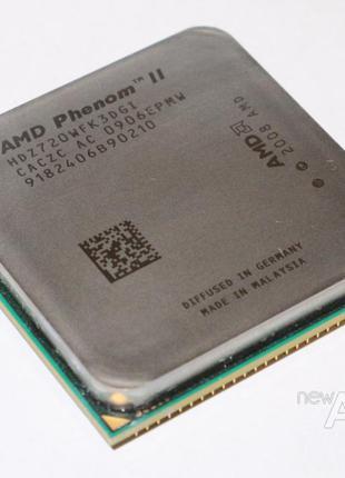 Процессор AMD Phenom II X3 720 / 3 ядра / 2.8GHz / Socket AM3