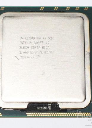 Процессор Intel Core i7 920 2.66 ГГц socket 1366