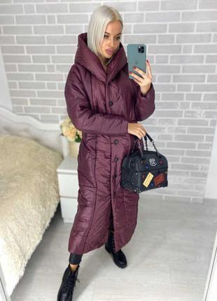 Куртка длинная зима,пальто