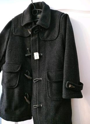 Теплое пальто на мальчика