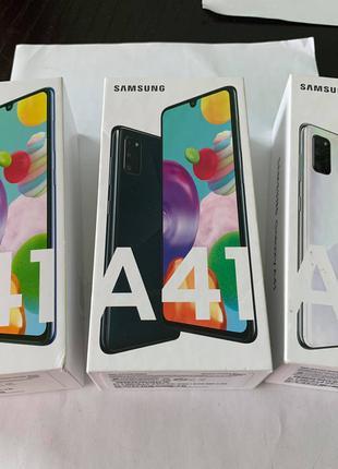 New новий Samsung A41 A414F Dual 64gb 2020
