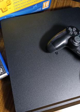 Sony Playstation 4 Slim 500Gb + аккаунт с играми