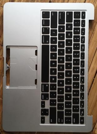 Топкейс Macbook A1502 с клавиатурой (US)